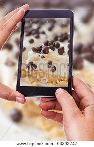 Photographing A Cake