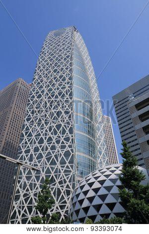 Modern architecture Tokyo Japan