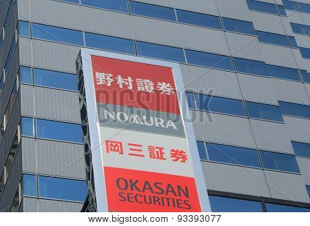 Nomura and Okasan Securities Japan finance