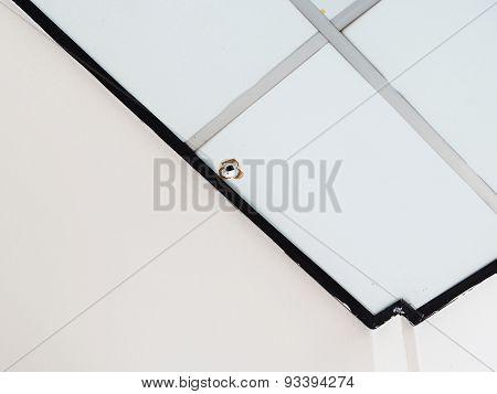 Bullet Mark On The Ceilings