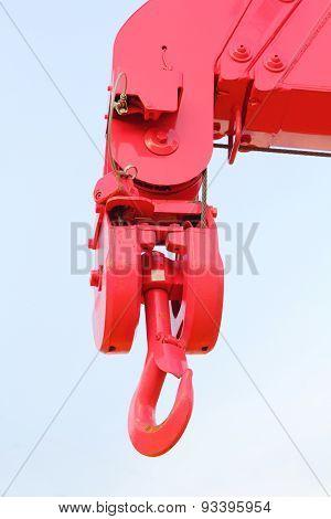 hook of transport truck