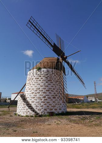 The mill in Valles de Ortega
