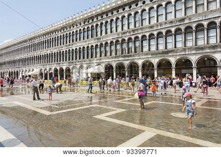St Mark's Square In Venice