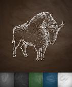 image of aurochs  - aurochs icon - JPG