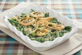 stock photo of green-beans  - Green bean casserole  - JPG