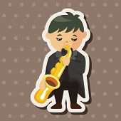 foto of trumpets  - Character Musician Trumpeter Theme Elements - JPG