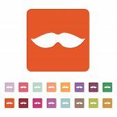 picture of moustache  - The moustache icon - JPG