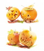 picture of jack-o-lantern  - Two Jack - JPG