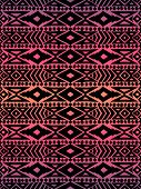 picture of aztec  - Aztec tribal mexican seamless pattern - JPG