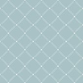 picture of diagonal lines  - Geometric fine abstract vector blue background with white dotted diagonal lines - JPG