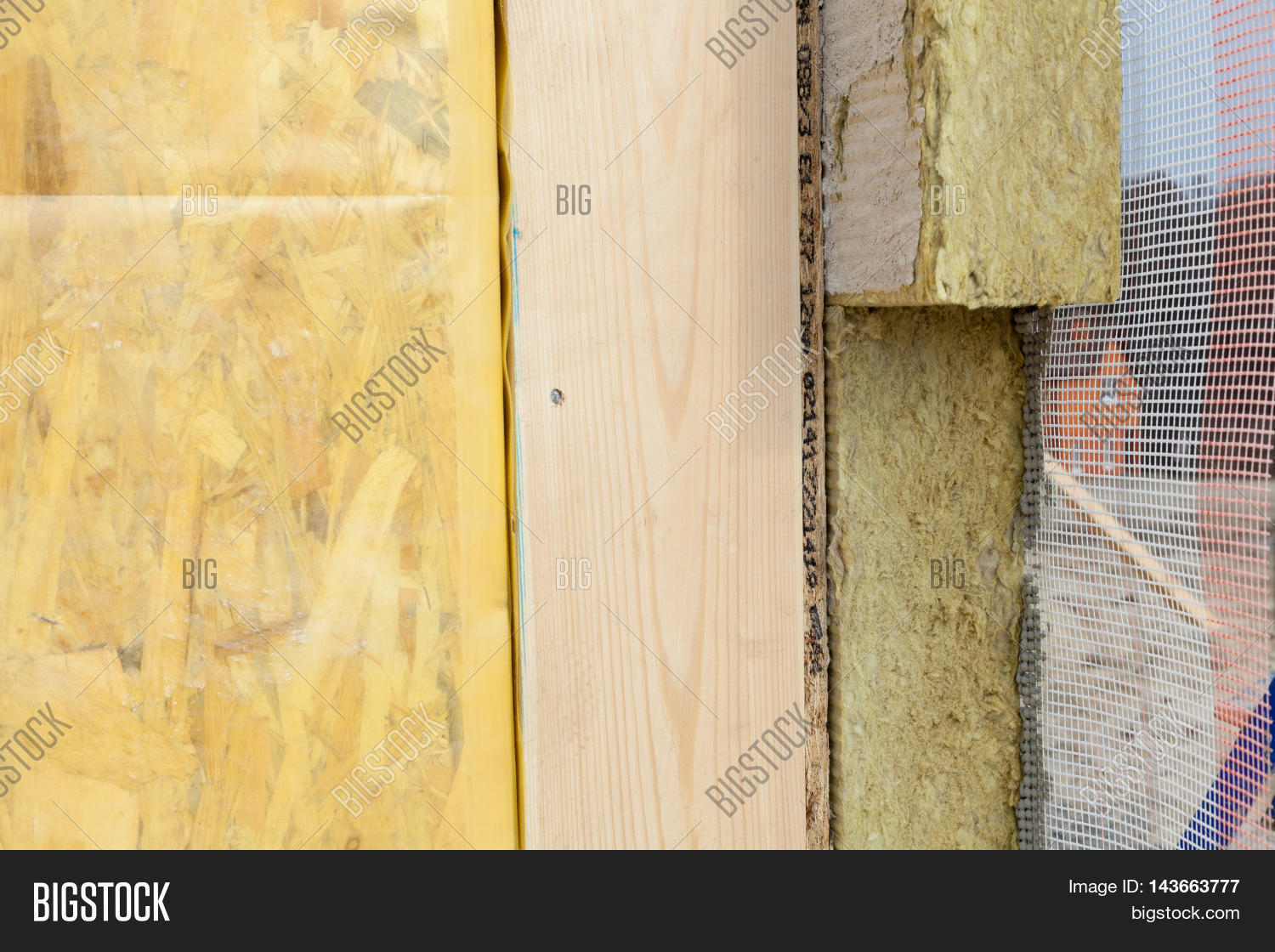 Closeup Structural Insulated Panels Image Photo Bigstock