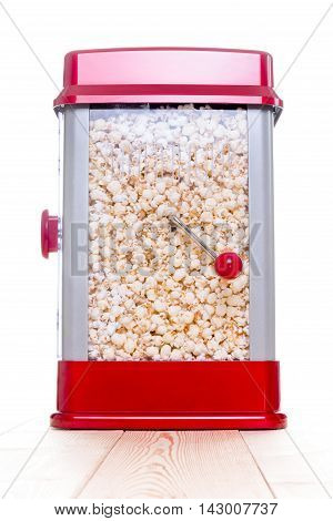Cute Red Popcorn Popping Device