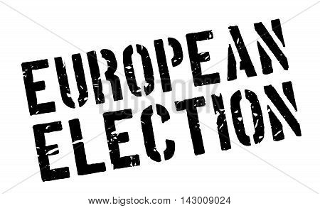 European Election Rubber Stamp