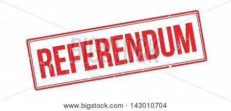 Referendum Rubber Stamp