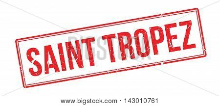 Saint Tropez Rubber Stamp