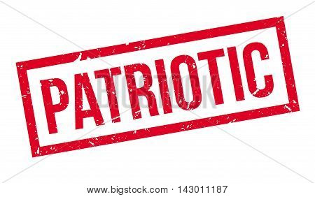 Patriotic Rubber Stamp
