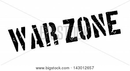War Zone Rubber Stamp