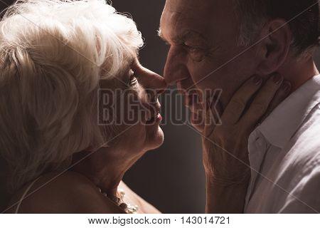 Older Couple Love Romance