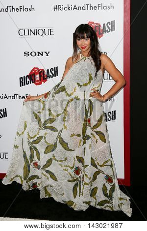 NEW YORK-AUG 3: Actress Jackie Cruz attends the 'Ricki And The Flash' New York premiere at AMC Lincoln Square Theater on August 3, 2015 in New York City.