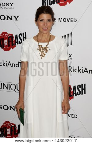 NEW YORK-AUG 3: Actress Marisa Tomei attends the 'Ricki And The Flash' New York premiere at AMC Lincoln Square Theater on August 3, 2015 in New York City.