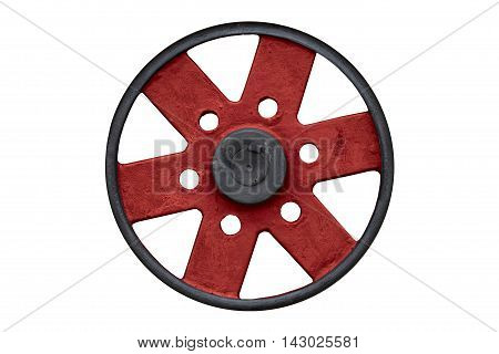 Black And Red Steel Wheel