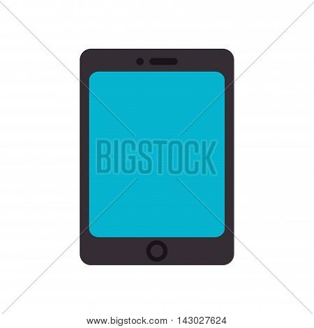 tablet device screen ipad touch technology computer vector illustration isolated