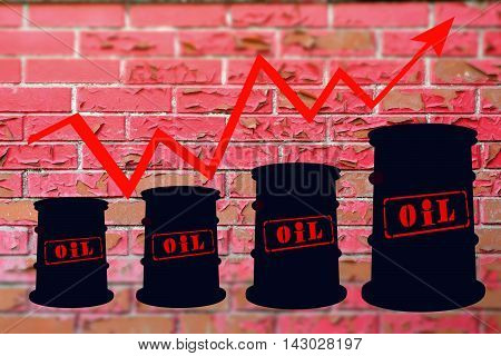 Barrels and schedule of price increases for petroleum products .