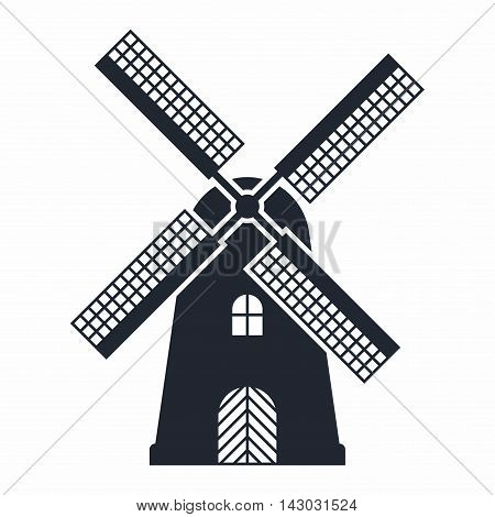 Windmill. Also known as a flour mill, is a building that can be used to make flour using wind power.
