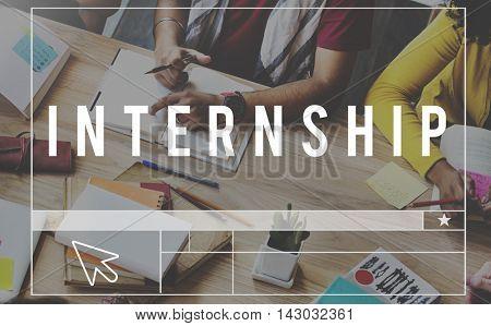 Internship Apprenticeship Management Trainee Concept