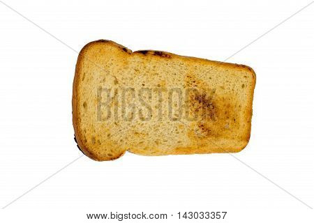 Toast Isolated Over White