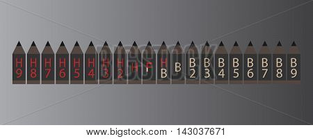 Grading and classification Pencil and ruler icon