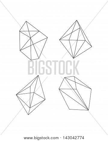 Polygonal Vector Figures