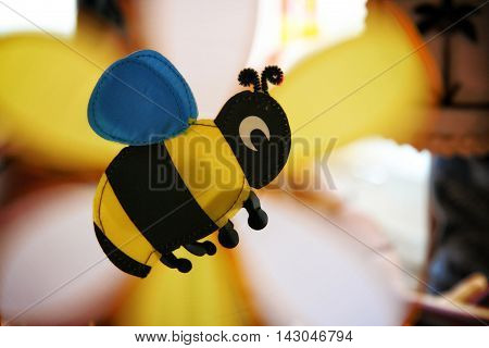 Bee shaped propeller toy in Malacca, Malaysia