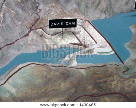 3D Model/Map Of Davis Dam