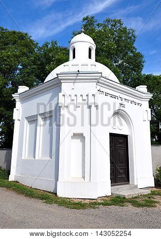 view of the old Jewish synagogue in the day