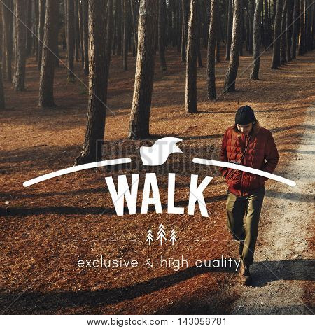 Walk Walking Exercise Roaming Hiking Trek Concept