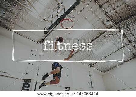 Fitness Activity Cardio Health Physical Training Concept