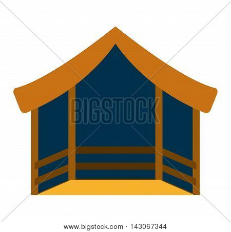 stable manger isolated icon vector illustration design vector illustration design