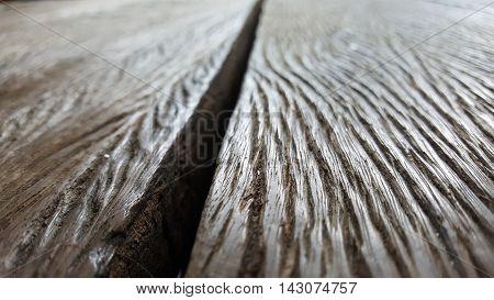 gap between old wooden floor. deep texture