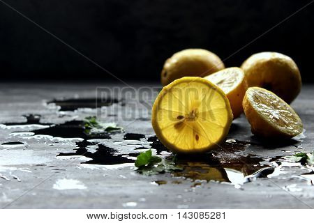 lemon is a species of small ever green tree nature to Asia