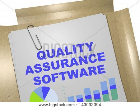 Quality Assurance Software Concept