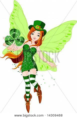 St. Patrick's Day Fairy