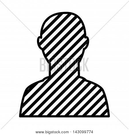 user silhouette isolated icon vector illustration design