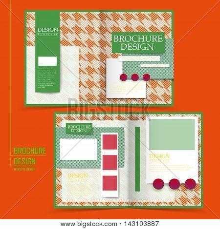 Attractive Half-fold Brochure Design
