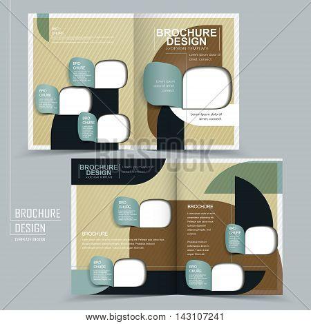 Elegant Half-fold Template Design
