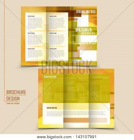 Attractive Tri-fold Template Design