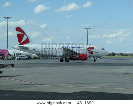 Czech Airlines Airbus A319
