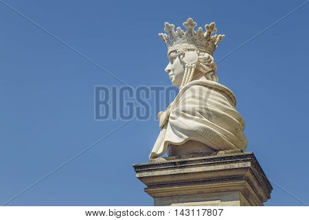 Queen Marie Of Romania Statue