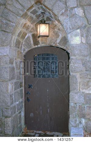 Door In Castle Wall