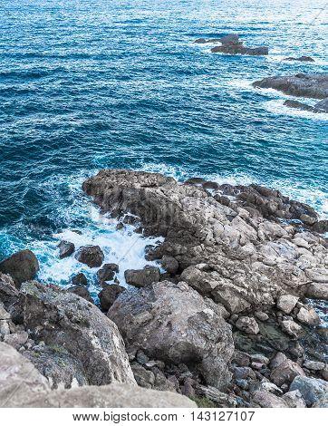 Mediterranean landscape seascape near San Javier, Spain